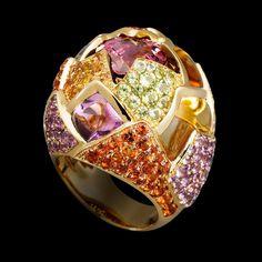 CIJ International Jewellery TRENDS & COLOURS - Ring by Lorenz Bäumer