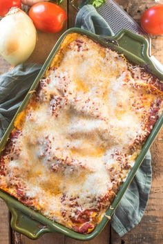 This easy classic lasagna recipe is million-dollar-good! Layers of marinara, Alfredo sauce, sausage, ricotta cheese, herbs and fresh mozzarella! No boil makes it great for busy nights. Best Easy Lasagna Recipe, Easy Lasagna Recipe With Ricotta, Classic Lasagna Recipe, Baked Lasagna, Great Recipes, Favorite Recipes, Italian Dishes, Quick Meals, Pasta Dishes