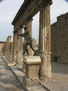Pompeii, Italy (Take time to actually visit the city of Pompeii. It's very cute, the food is great, and the main park has a 9-11 tribute.)