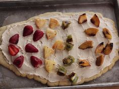 Grilled Fruit Pizzas recipe from Ree Drummond via Food Network