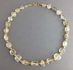 Byzantine faceted crystal cube beads