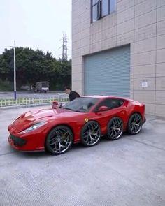 This is a special Ferrari Ferrari F12berlinetta, Ferrari F40, Best Luxury Cars, Sports Car Racing, Super Cars, Vehicles, House, Cars, Haus