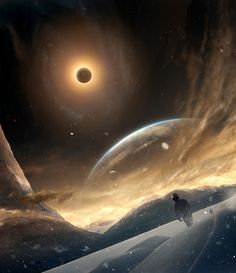 """headlesssamurai: """"Science is my territory, but science fiction is the landscape of my dreams."""" ― Freeman Dyson"""