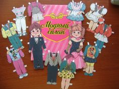 Модный салон. Бумажные куклы СССР - http://samoe-vazhnoe.blogspot.ru/
