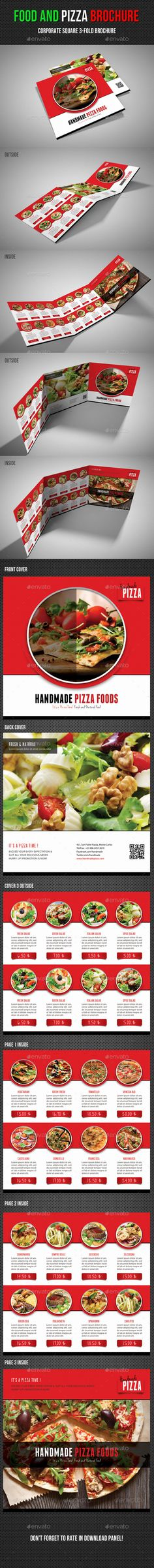 Hamburger Restaurant Menu Flyer Flyers, Small cafe and Advertise - sample pizza menu template