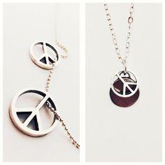 [Basic peace necklace]