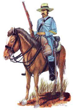 Spanish cavalry trooper.