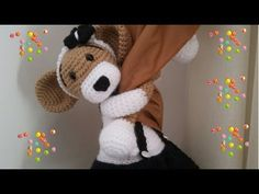 YouTube Crochet Baby Toys, Crochet Dolls, Baby Knitting, Amigurumi Doll, Amigurumi Patterns, Crochet Patterns, Creative Crafts, Diy And Crafts, Crochet Curtains