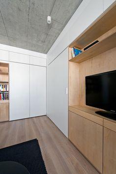 Apartamento em Vilnius,© Leonas Garbacauskas
