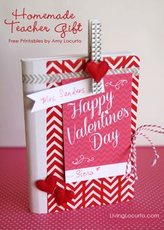 Easy Valentine's Day Gift Idea with Free Printables LivingLocurto.com