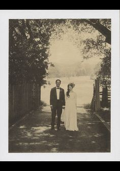 Vintage Carmel wedding   Real Weddings and Parties   100 Layer Cake