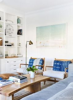 Here are 21 fresh ways to use varying shades of blue in your own home, whether you decide to use it in the furnishings, walls, fabrics or accessories.
