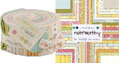 Noteworthy Moda Jelly Roll