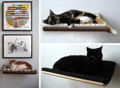 Curve Cat Bed by Akemi Tanaka