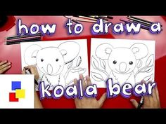 How To Draw A Koala Bear - Art For Kids Hub -
