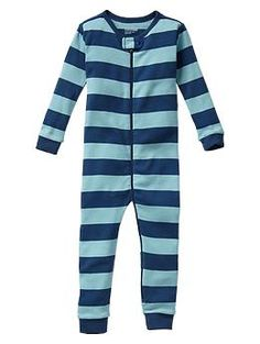 Stripe sleep one-piece | Gap