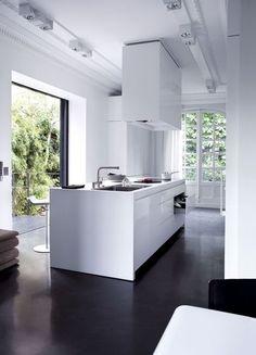 Ultra design white kitchen