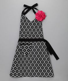 Take a look at this Queen of Hearts Apron - Women by Whim on #zulily today! $14 !!