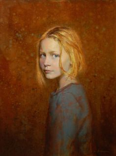 Artist: Seth Haverkamp (b. oil on panel {figurative art blonde female head girl face portrait cropped painting Figure Painting, Painting & Drawing, L'art Du Portrait, Portrait Paintings, Figurative Kunst, Female Art, Female Head, Love Art, Painting Inspiration