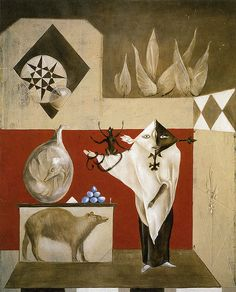 leonora carrington - 'the conjuror'