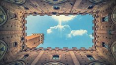 Siena, Free Pictures, Free Images, Clouds, Black And White, Architecture, Building, Toscana Italia, Travel