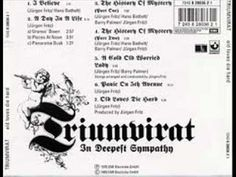 "▶ Triumvirat - ""I Believe""                              [Triumvirat was a German progressive rock trio that formed in 1969 in Cologne, Germany. The founding members were: keyboardist/composer Hans-Jürgen (later simply Jürgen) Fritz (born March 13, 1953), drummer/lyricist Hans Bathelt, and bassist Werner Frangenberg. Triumvirat is the Latin word for a triumvirate, a grouping of three powerful men, thus referring to the musical trio.] `j"