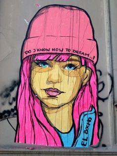 street art, Kreuzberg, Berlin by El Bocho