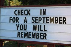 September you will remember