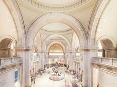 The Great Hall of The Metropolitan Museum of Art, Manhattan, New York City