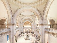 The Great Hall of The Metropolitan Museum of Art, Manhattan, New York City