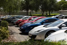 McLaren 50th Celebrations and drive in the UAE