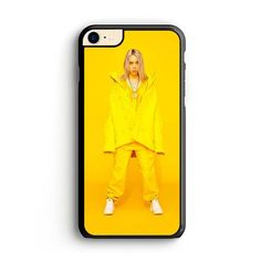 Billie Eilish In Yellow Outfit Yellow Background iPhone 8 Case | Milos – Miloscase Yellow Background, Iphone 8 Cases, Billie Eilish, Outfit, Clothing, Clothes, Outfits, Giyim, Kleding