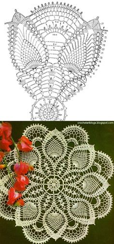 Lots of free crochet doily patterns here.:                                                                                                                                                                                 More