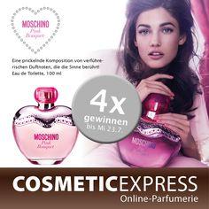 Macht mit bei unserem #Facebook #Gewinnspiel und gewinnt einen #Moschino #Pink #Bouquet Duft