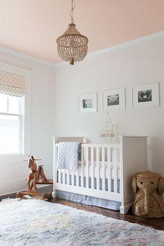soft pink nursery