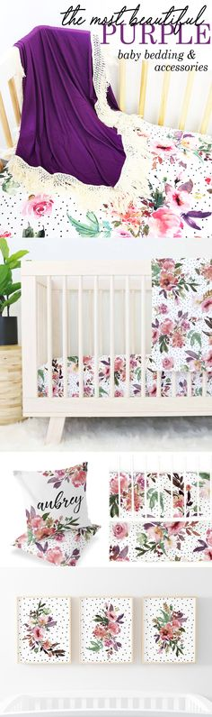 Woodland Bed with Ladybugs Red White Flowers Roses Baby Girl 3 Skin Tones Sleeping Baby Designer Set Clipart Instant Download