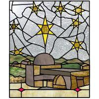Little town of Bethlehem 6 point stars 1