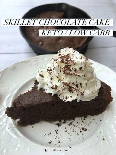 "TweetEmail TweetEmail Share the post ""Chocolate Skillet Cake {Keto/Low Carb}"" FacebookPinterestTwitterEmail Since starting to follow a Ketogenic Diet in May, I haven't cheated one time and honestly don't intend to anytime soon. I'm feeling great, losing inches, and sleeping so good so why would I?  However, there are times when I get a hankering forcontinue reading..."