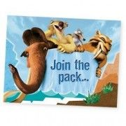 Ice Age 2 Invitations w/ Envelopes