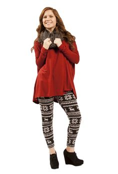 winter wonderland leggings from the RUSTIC mule