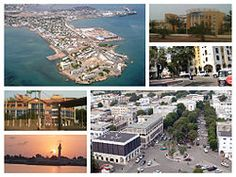 Djibouti - capital: Djibouti - photos: Panorama of Djibouti City
