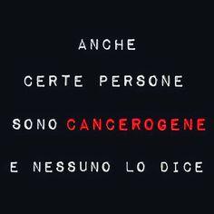 Persone cancerogene con Instagram