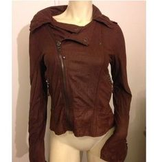 I just discovered this while shopping on Poshmark: EVER BRAND LAMBSKIN JACKET 👚. Check it out! Price: $220 Size: M, listed by girlstyle81