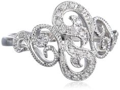 Sterling Silver Filigree Diamond Ring (0.07 Cttw, I-J Color, I2-I3 Clarity), Size 7 Amazon Curated Collection,http://www.amazon.com/dp/B00E0FKFKG/ref=cm_sw_r_pi_dp_azBAsb18BKQKKZGC