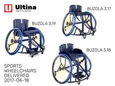 Custom-built sports wheelchairs Ultina BUZOLA - Very solid aluminium 7020 frame, Spinergy wheels with X-laced design and high-quality and safe textiles in custom-design.
