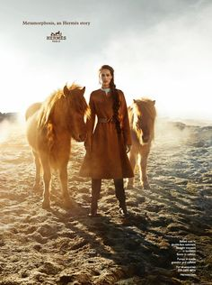 Hermes FW 2014 2015 l #horse #iceland #fashion