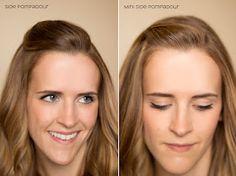 15 ways pinning hair back
