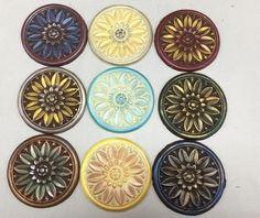 Hand painted chocolate medallions | Art Eatables | http://www.yelp.com/biz/art-eatables-louisville-3