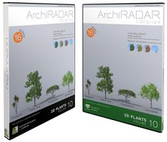 Available the ninth collection of 3D Trees for ArchiCAD and Artlantis made by ArchiRADAR . Each collection contains four species of trees, each in 4 variants, to avoid the repetition of the same trees in the scene. The 3D trees have high quality of...
