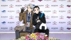 The Cup of China, a Grand Prix Series event, is here! Realizing that he is the man who took Victor from the world, Yuri gets worked up before his performance. Victor is concerned to see Yuri this way for the first time. Grand Prix, Katsuki Yuri, Viktor Nikiforov, Johnny Weir, ユーリ!!! On Ice, Comic, Ice Skaters, Kyushu, Sing To Me